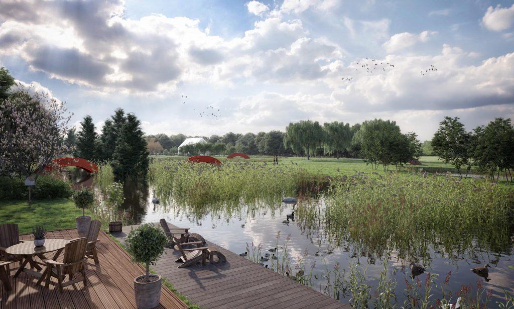 Alphen aan den Rijn  Landgoed Verboom Kavels – Foto