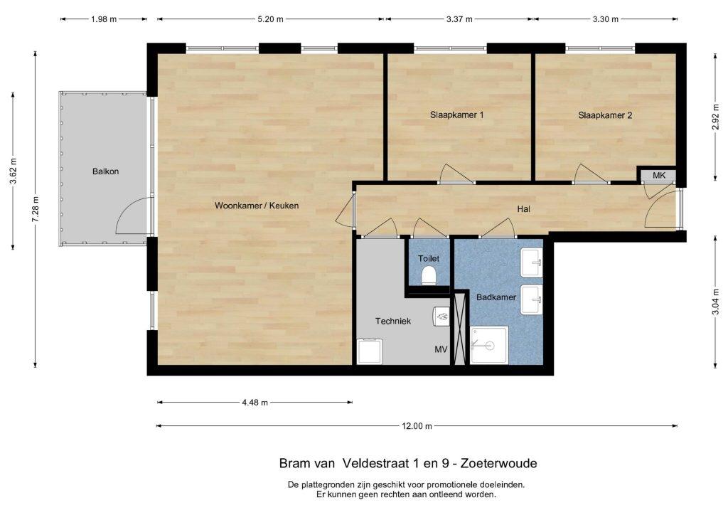 Zoeterwoude  Bram van Veldestraat 9. – Foto 5